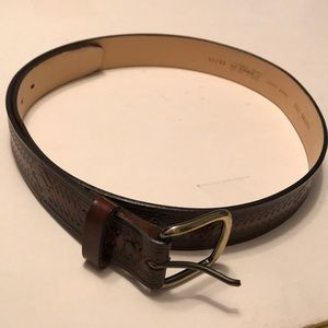 Other - Man's Genuine brown leather belt. 38. USA